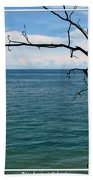 Lake Ontario Near Chimney Bluffs Beach Towel