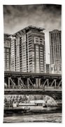 Lake Shore Drive Lsd Beach Towel