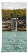 Lake Superior Pictured Rocks 48 Beach Towel