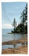Lake Tahoe Beach Beach Towel