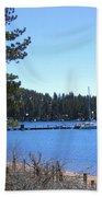Lake Tahoe Dock Beach Towel