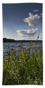 Lake View Beach Towel
