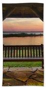 Lakeside Serenity Beach Towel