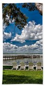 Lakeside View Beach Towel
