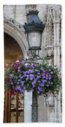 Lamp And Lace At The Grand Place Beach Towel