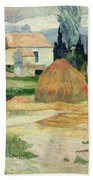 Landscape Near Arles Beach Towel