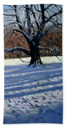 Large Tree Beach Towel