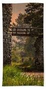 Last Bridge To Minas Tirith  Beach Towel