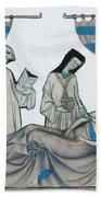 Last Rites, Middle Ages Beach Towel