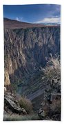 Late Afternoon At Black Canyon Of The Gunnison Beach Towel