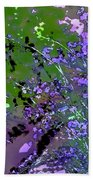 Lavender 2 Beach Towel