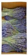 Lavender Bundles Beach Sheet