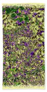 Lavish Leaves 6 Beach Towel