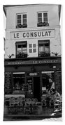 Le Consulat Beach Towel