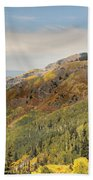 Lead King Basin Road 2 Beach Towel