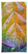 Leaf Beach Towel