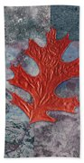 Leaf Life 01 - T01b Beach Towel