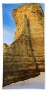 Learn Tower Of Monument Rocks Beach Towel