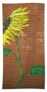 Leavenworth Sunflower  Beach Towel