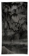 Legend Of The Old House In The Swamp Beach Towel