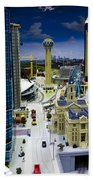 Legoland Dallas Iv Beach Towel