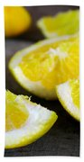 Lemon Quarters Beach Towel
