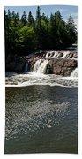 Lepreau Falls Beach Towel
