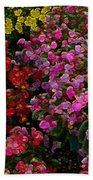 les fleurs II Beach Towel
