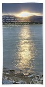 Let Light Shine Out Of Darkness Beach Towel