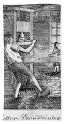 Letter Press Printer, 1807 Beach Towel