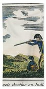 Lewis & Clark: Native American, 1811 Beach Towel