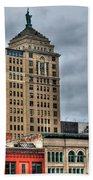 Liberty Building And Hotel Lafayette Beach Towel