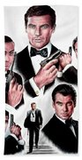 Licence To Kill  Digital Beach Towel by Andrew Read