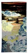 Life In The Tidepools Beach Towel