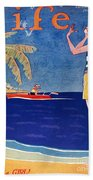 Life: Its A Girl, 1926 Beach Towel