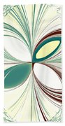 Light In The Darkness White Beach Towel