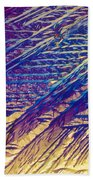 Light Micrograph Of Zalcitabine Ddc Beach Towel