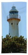 Lighthouse On Grand Turk 2 Beach Towel