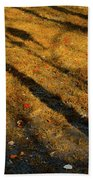 Lights And Shadows Beach Towel