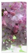 Lilac Blooms Beach Towel