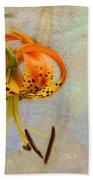 Lilium Pardalinum Beach Towel