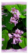 Lily Of The Valley - In The Pink #1 Beach Towel