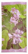 Lily Of The Valley - In The Pink #3 Beach Towel