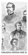 Lincoln Assassins Trial Beach Towel