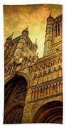 Lincoln Cathedral Beach Towel