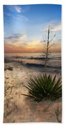Linger By The Sea Beach Towel
