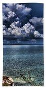 Lingering Clouds Beach Towel