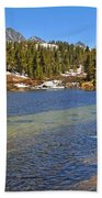 Little Lakes Valley Beach Towel
