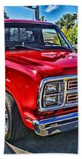 Little Red Express Hdr Beach Towel