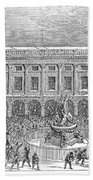 Liverpool Exchange, 1854 Beach Towel